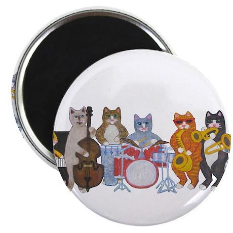 "Salsa Cats 2.25"" Magnet (100 pack)"