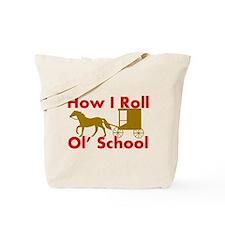 Amish Rolling Tote Bag