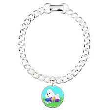 White Poodle Bracelet