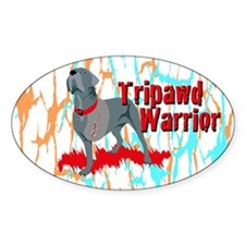 Tripawd Warrior Bellona Decal