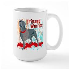 Tripawd Warrior Bellona Mug