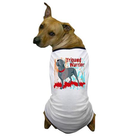 Tripawd Warrior Bellona Dog T-Shirt