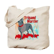 Tripawd Warrior Bellona Tote Bag