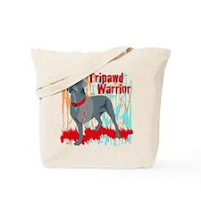 Tripawd Warrior Bellona Tote Bag
