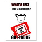 WHAT'S NEXT CHINESE HAMBURGERS? Small Poster