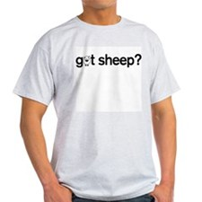 got Sheep? Ash Grey T-Shirt
