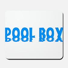 Pool Boy Mousepad