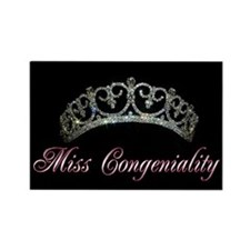 Unique Miss congeniality Rectangle Magnet