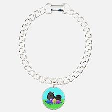 Black Pomeranian Bracelet