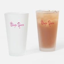 Bingo Queen Pint Glass