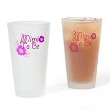 Mimi To Be Flowers Pint Glass