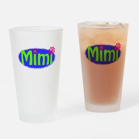 Bright Mimi Pint Glass