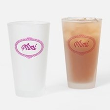 Pink Mimi Pint Glass
