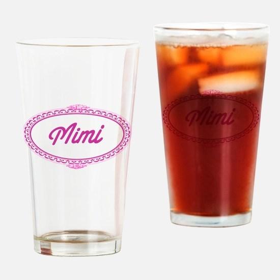 Pink Mimi Pint Glass