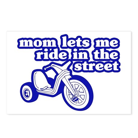 Ride In The Street Postcards (Package of 8)