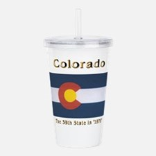 Colorado 38th State Acrylic Double-wall Tumbler