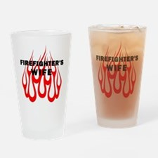 Firefighters Wife Pint Glass