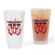 Firefighters Girlfriend Pint Glass