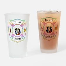 Future Firefighter Pastel Pint Glass