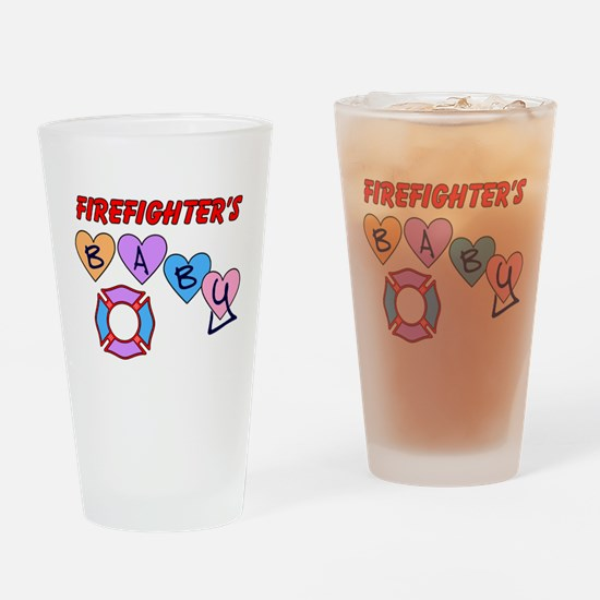 Firefighter's Baby Pint Glass