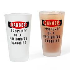 Firefighter's Daughter Pint Glass