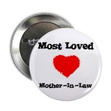 Most Loved Mother-in-law Button