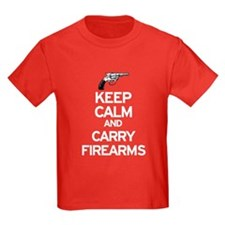 Keep Calm and Carry Firearms T