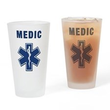 Medic and Paramedic Pint Glass