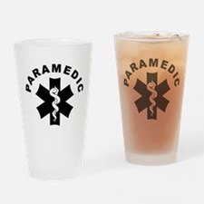 Paramedic Star Of Life Drinking Glass
