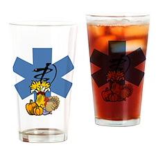 EMS Thanksgiving Drinking Glass