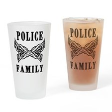 Police Family Drinking Glass