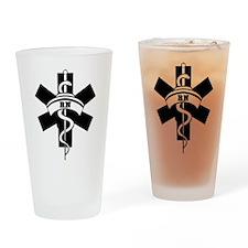 RN Nurses Medical Drinking Glass