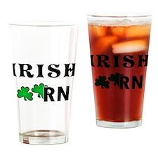 Irish Nurse RN Drinking Glass