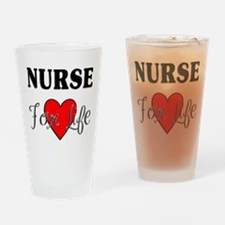 Nurse For Life Pint Glass