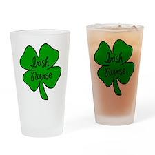 Irish Nurse Pint Glass