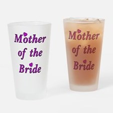 Mother of the Bride Love Drinking Glass