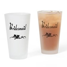 Classic Bridesmaid Pint Glass