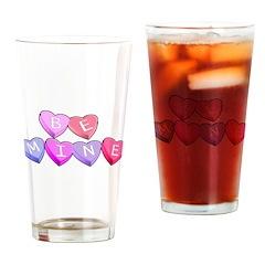 Be Mine Valentines Pint Glass