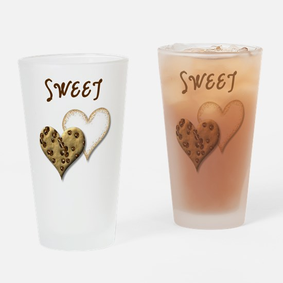 Sweet Cookies Drinking Glass