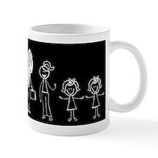 Pooped on Dad (w/ two girls) Mug