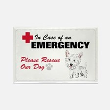 Save My Westie Rectangle Magnet