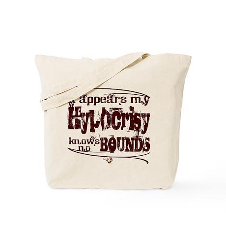 """""""Hypocrisy"""" Tote Bag"""