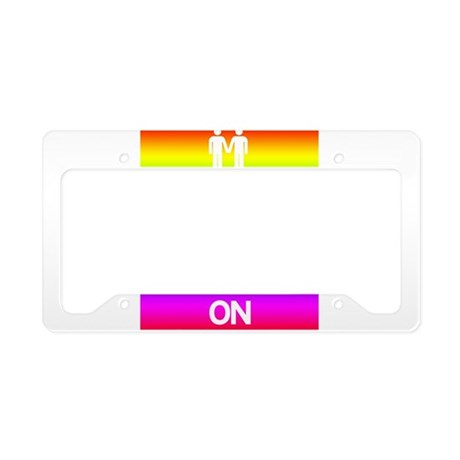 Keep Calm and Marry On License Plate Holder