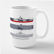 CV/CVA-31 USS Bon Homme Richard Mugs