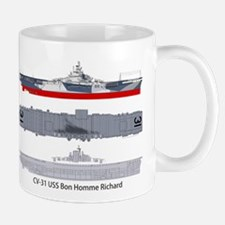 USS Bon Homme Richard CV 31 CVA-31 Mug