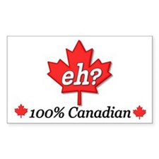 Canada Eh? Rectangle Decal