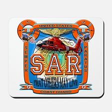 USCG Coast Guard SAR Mousepad
