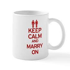 Keep Calm and Marry On Mug