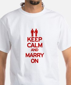 Keep Calm and Marry On Shirt