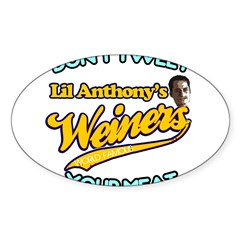 Weinergate 2011 Sticker (Oval)